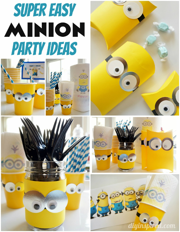 DIY Minions Party Ideas - Featured Post HMLP 45