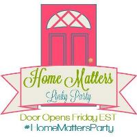 Home Matters Linky Party - Grab Button