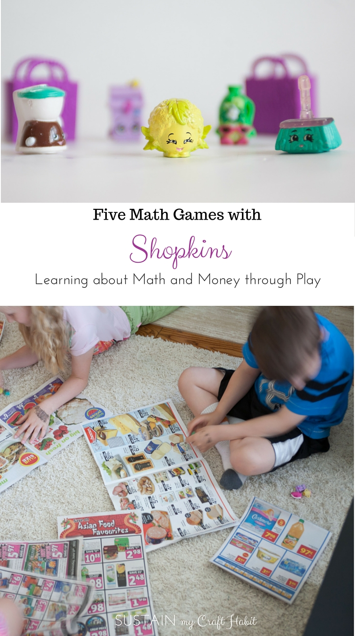 How to Play with Shopkins: Five Math Games – Sustain My Craft Habit