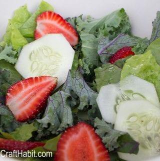 No-Fuss Summer Strawberry Salad