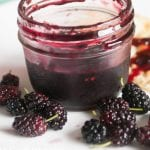 A delicious and easy to follow mulberry jam recipe. A bonus mulberry sauce recipe is included.