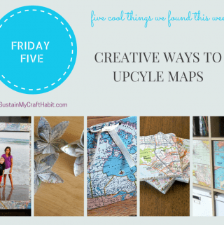 Friday Five: Creative Ways to Recycle Maps