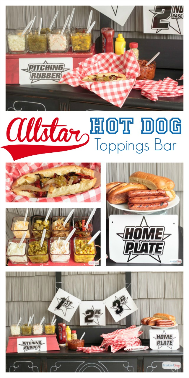 All Star Hot Dog Toppings Bar - HMLP 47 Feature