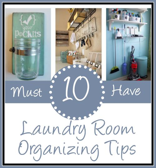 10 Ways To Organize A Laundry Room - HMLP 51 Feature
