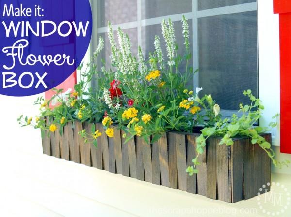 DIY Window Flower Box - HMLP 50 Feature