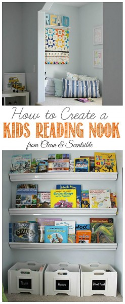How To Create A Kids Reading Nook | Clean & Scentsible