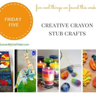 Five Creative and Crafty Things to do With Crayons