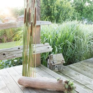 Drifting Cattails Porch Decor