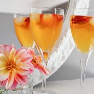 Luscious Peach Bellini