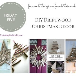 5 Fun Driftwood Crafts for Christmas