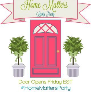 Home Matters Linky Party #55