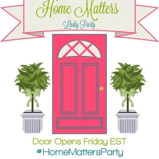 Home Matters Linky Party #45