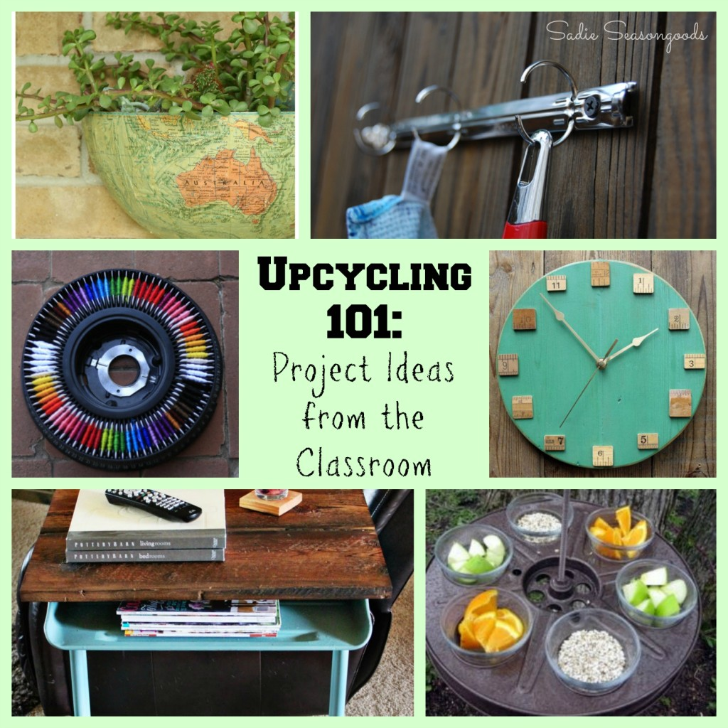 Upcycling 101: Repurposed School and Classroom Items - Feature - HMLP 56