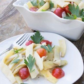 Yellow Pole Bean Salad