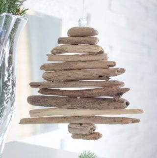 Miniature DIY Driftwood Tree Ornament