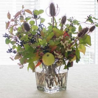 We're Guest Posting: Foraged Berry Branch Bouquet