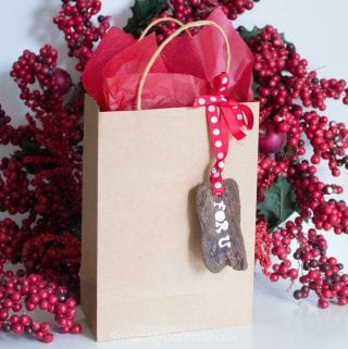 Handmade Driftwood Tree Bark Gift Tags
