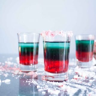 A Layered Peppermint Shooter