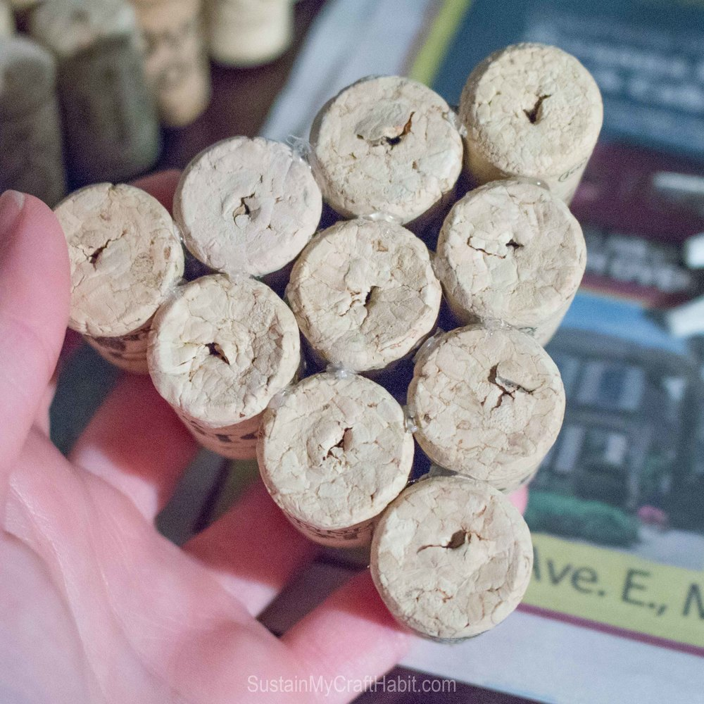 Wine bottle corks crafts - How To Make This Wine Cork Crafts Project