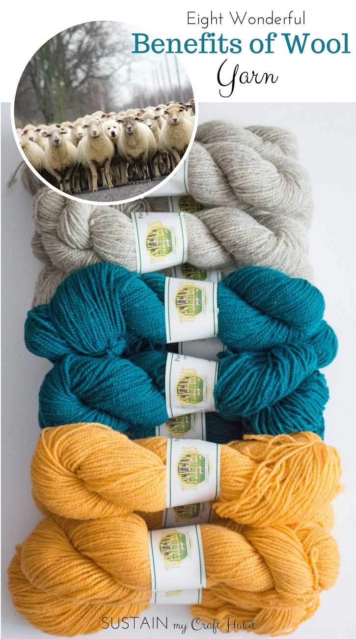 Benefits of wool yarn | Wool crafts | Crafts with #wool