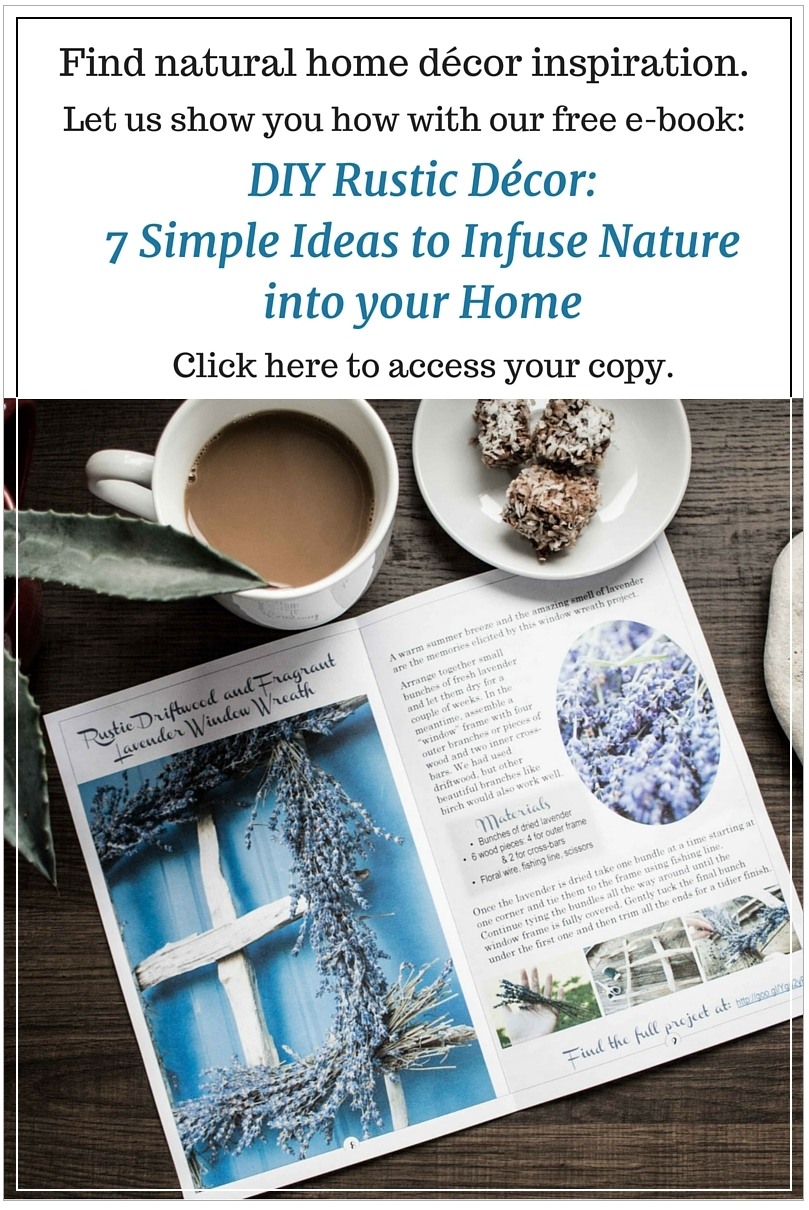 Grab some natural home decor inspiration with this free e for Organic home decor