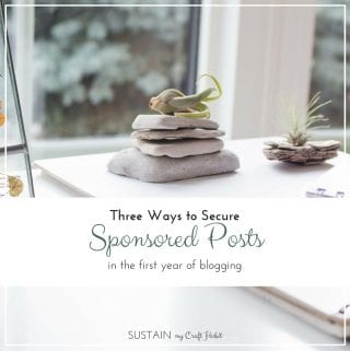 Earning money during that first year of blogging can be challenging. Here are three ways in which we were able to work with brands on sponsored posts during these early days of our blog.