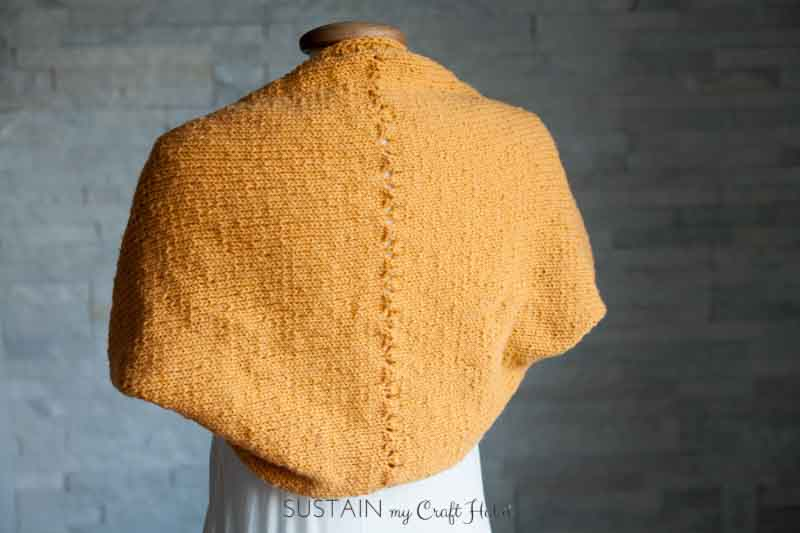Simple Sunrise Knitted Shrug Pattern Sustain My Craft Habit