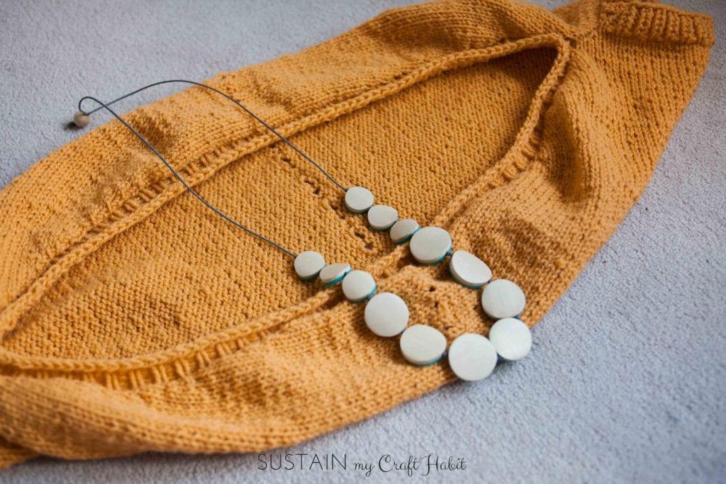 Simple Sunrise Knitted Shrug Pattern – Sustain My Craft Habit