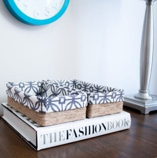 Upcycling a Tissue Box into a DIY Decorative Storage Box