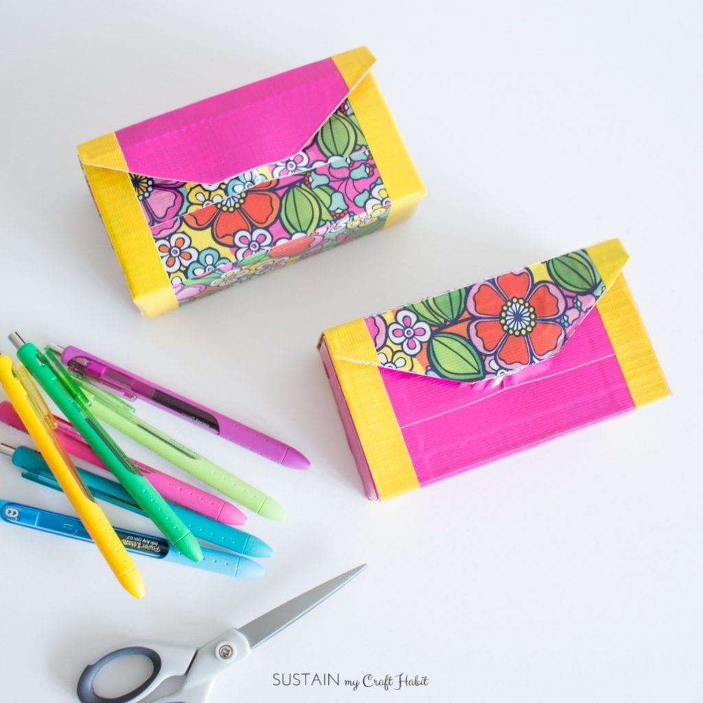 Diy Pencil Case Back To School Craft