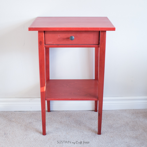 DIY Nightstand Makeover for a Natural Baby Nursery – Sustain My