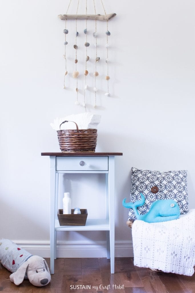 DIY Nightstand Makeover For A Natural Baby Nursery Sustain My