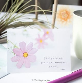 Our Gift to You: Monthly Free Floral Greeting Card Printables