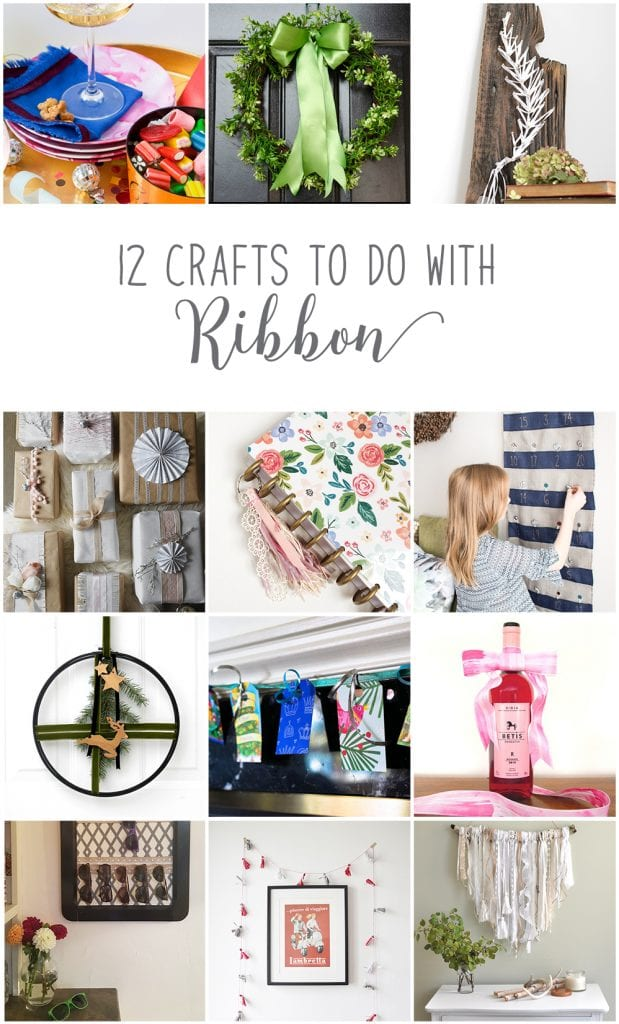 DIY advent calendar | How to make an advent calendar with ribbon | Holiday crafts to make with ribbon