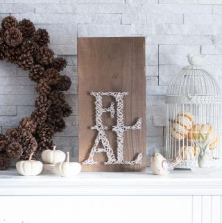 Easy DIY Fall String Art Tutorial