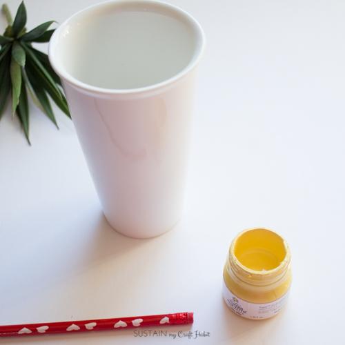 A Diy Personalized Sharpie Travel Mug Sustain My Craft Habit