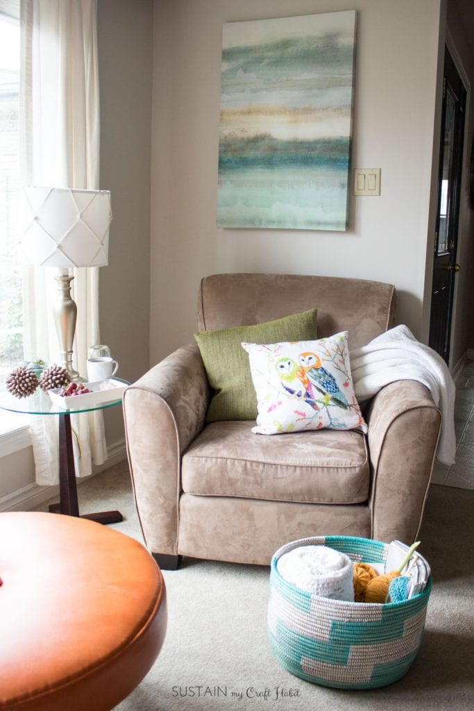 Cozy Living Room Decorating Ideas And Other Self Care Tips For Busy Moms Sustain My Craft Habit