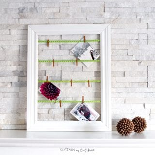 Simple DIY Christmas Card Display Idea: Create a Rustic Holiday Mantel With Us!