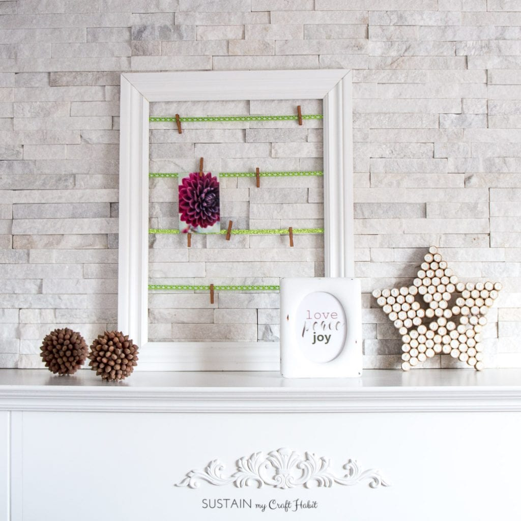 Free Christmas Printable Love Peace Joy Rustic Holiday Mantel Create Along Sustain My Craft Habit