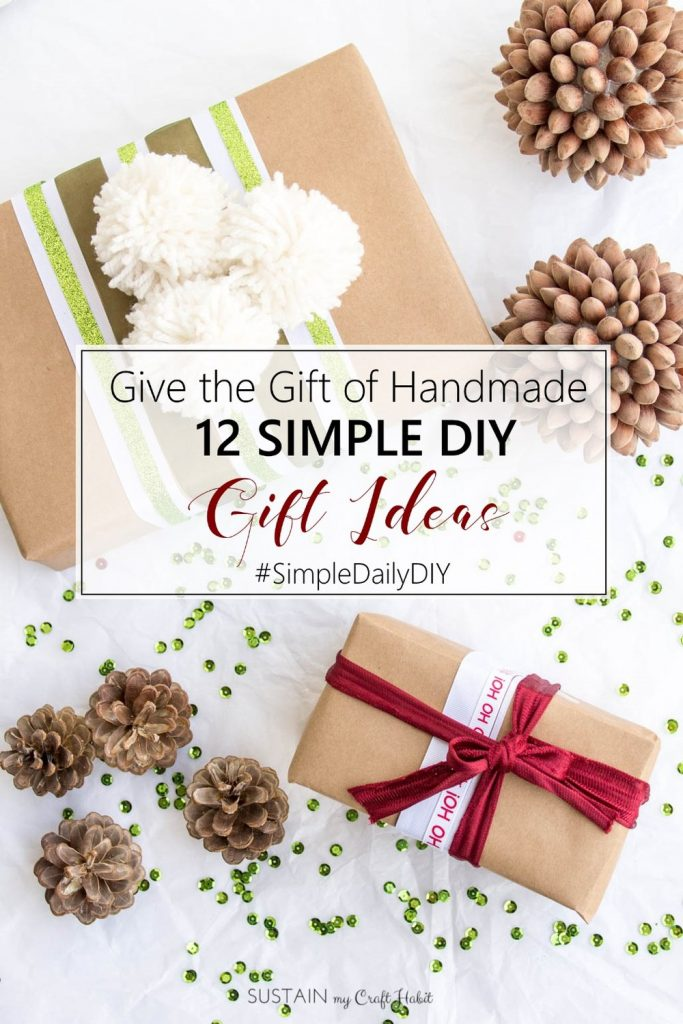 Simple DIY gift ideas | Handmade gift ideas for the holidays | Quick DIY Christmas gifts ideas