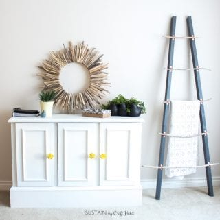 A DIY Modern Buffet Furniture Makeover