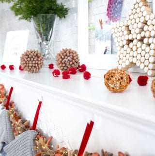 Create Your own Rustic Christmas Mantel with These 10 DIY Ideas: The Final Reveal