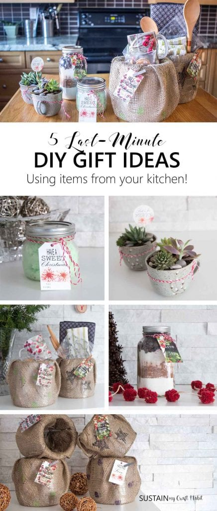 5 quick and easy last minute gifts you can make with items from save negle Image collections