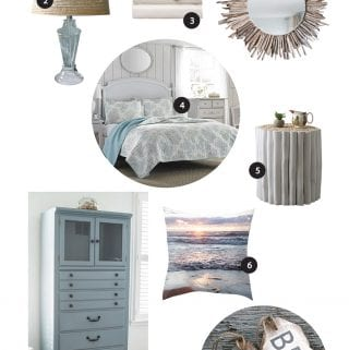 Graystone Beach Coastal Cottage Reno: Orchardview Room Mood Board and DIY Coastal Decor Ideas