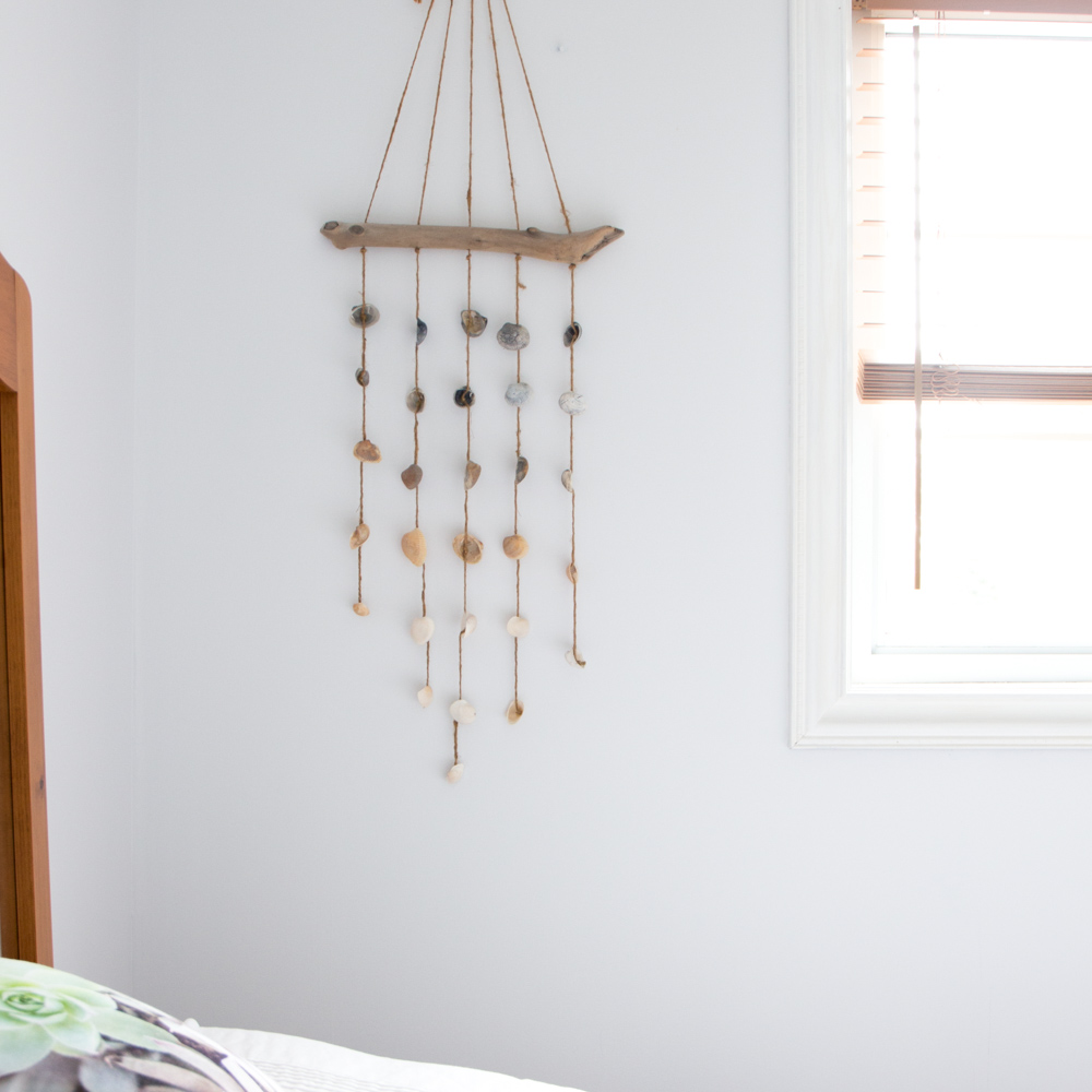 How to Make an Easy Clinky Coastal Seashell Wind Chime