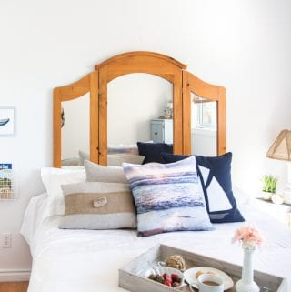 DIY Coastal Decor Ideas: Graystone Beach Cottage Orchardview Bedroom Reveal