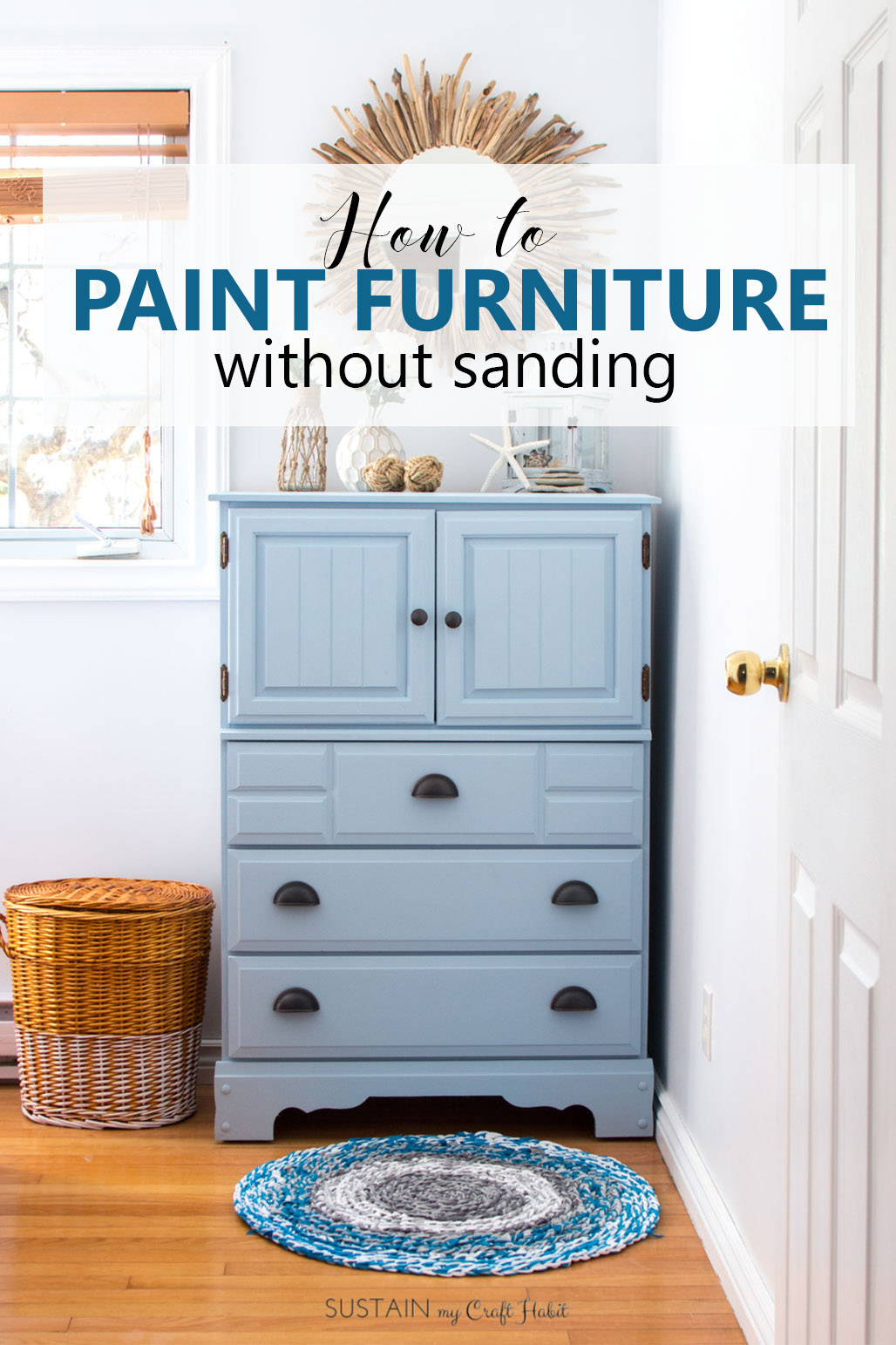 How To Paint A Dresser Without Sanding In 4 Easy Steps Sustain My