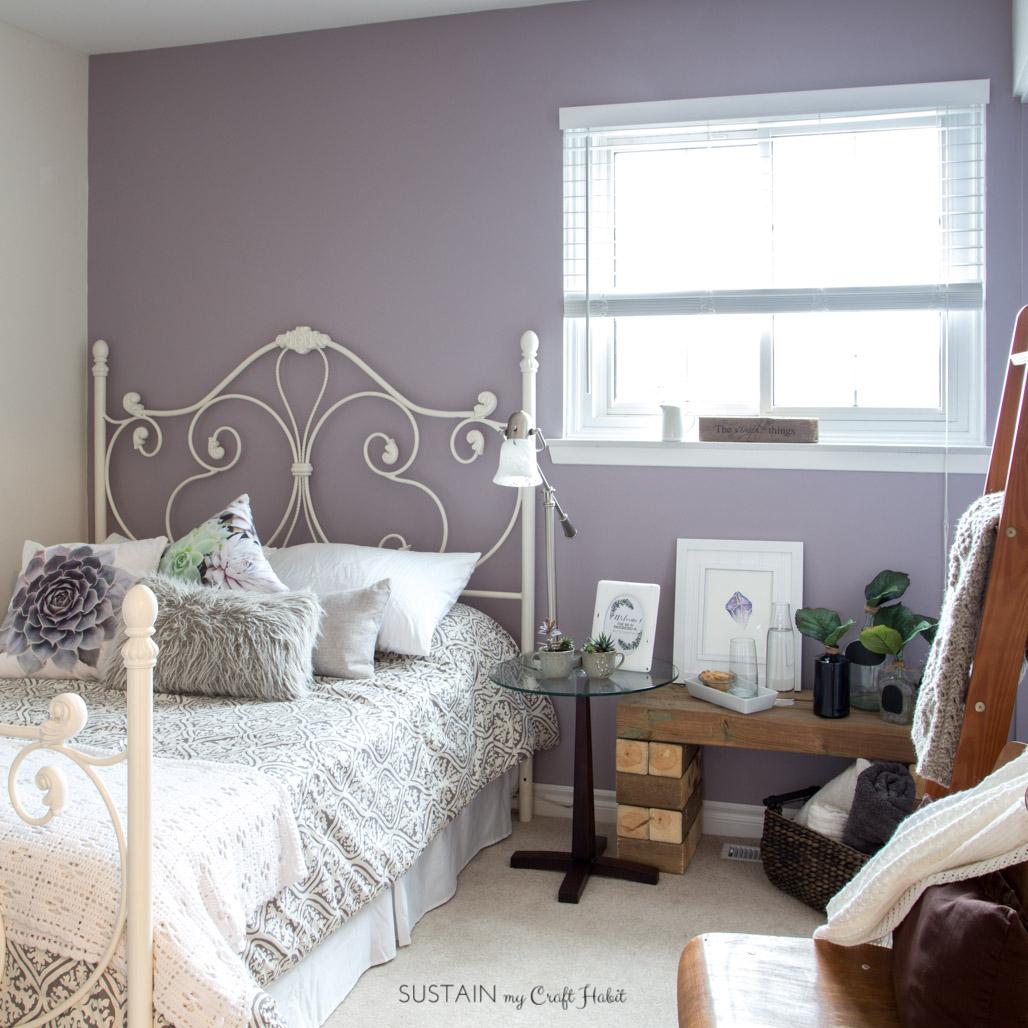 Guest bedroom ideas you look mauve lous 5782 2 sustain my craft habit - Mauve bedroom decorating ideas ...