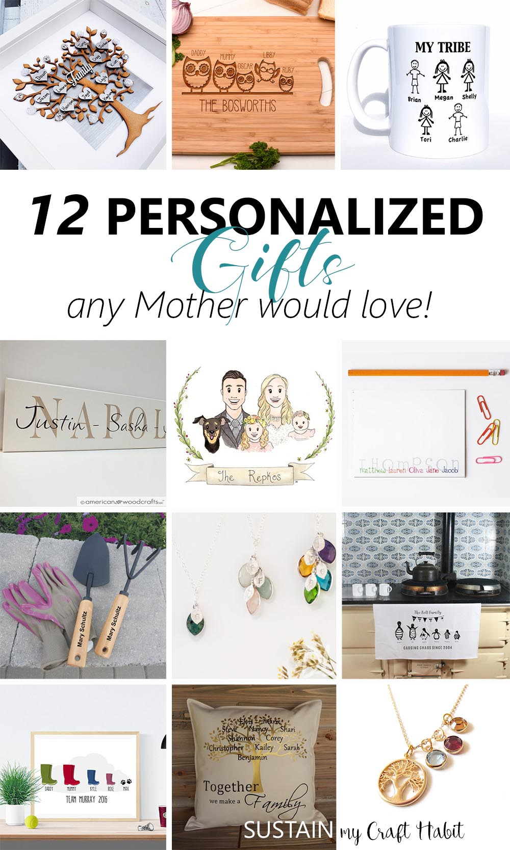 Thoughtful personalized gifts any mother would love