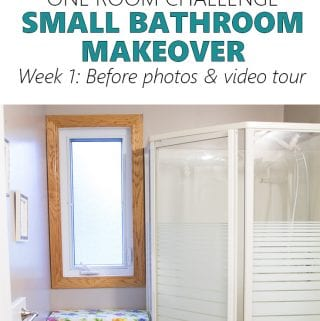 One Room Challenge | Spring 2017 Edition | Small Bathroom Remodel – Week 1